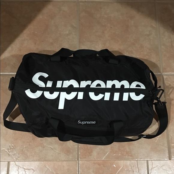 28ccf3feac Supreme Bags | Duffle Bag Ss17 Cordura | Poshmark